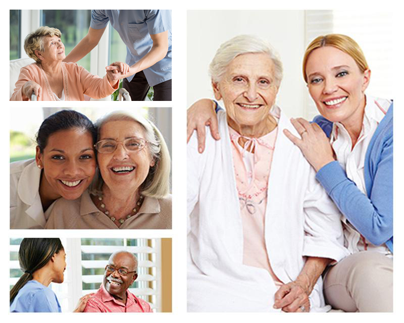 Caregivers with Elderly
